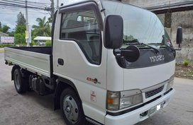 White Isuzu Elf 2019 Manual Diesel for sale