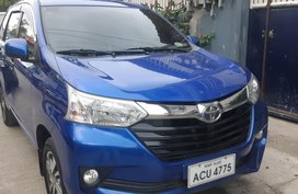Selling Blue Toyota Avanza 2016 at 59000 km in Davao City