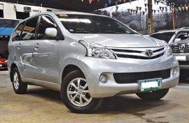 Silver 2013 Toyota Avanza for sale in Quezon City