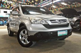 Silver 2008 Honda Cr-V Automatic Gasoline for sale