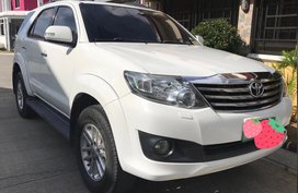Selling Used Toyota Fortuner 2012 Automatic Diesel in Santa Rosa