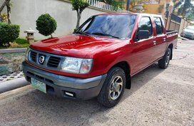 Red 2005 Nissan Frontier at 120000 km for sale in Cebu