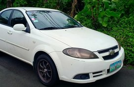 Sell Used 2008 Chevrolet Optra Manual Gasoline in Quezon City