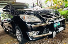 Sell Black 2013 Toyota Innova Manual Diesel at 60000 km