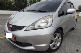 Silver 2010 Honda Jazz Hatchback at 42000 km for sale
