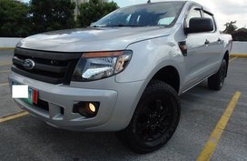 Silver 2014 Ford Ranger Manual Diesel at 39000 km for sale