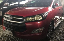 Selling Red Toyota Innova 2017 in Quezon City