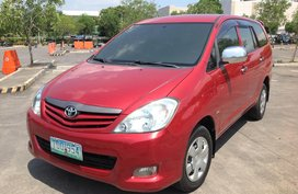 Selling Red Toyota Innova 2012 Manual Diesel
