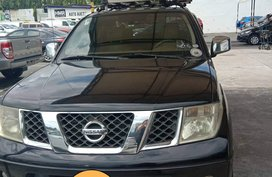 Black 2009 Nissan Frontier Navara Truck Automatic Diesel for sale