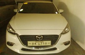 White 2017 Mazda 3 Hatchback at 15000 km for sale