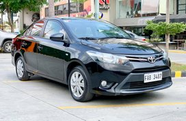 Black 2017 Toyota Vios at 19000 km for sale in Cebu