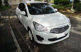 Selling White Mitsubishi Mirage G4 2017 Manual Gasoline at 16000 km