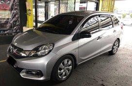2015 Honda Mobilio Manual Gasoline for sale