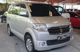Silver 2017 Suzuki Apv Gasoline Automatic for sale