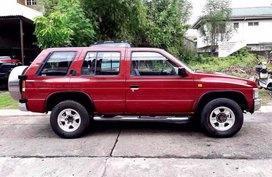 Red 1999 Nissan Terrano Manual Diesel for sale