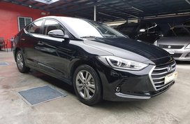 Black Hyundai Elantra 2018 at 5000 km for sale in Las Pinas