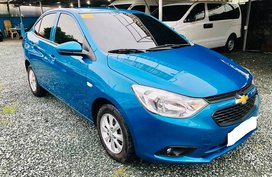 Blue 2017 Chevrolet Sail Sedan at 29000 km for sale