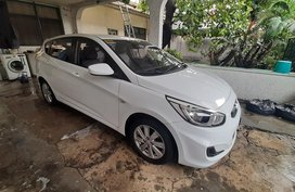 White 2016 Hyundai Accent Hatchback for sale in Quezon City