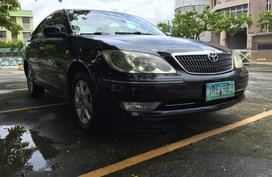 Selling Black Toyota Camry 2004 at 91000 km in Makati