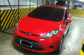 Red 2013 Ford Fiesta at 70000 km for sale in Metro Manila