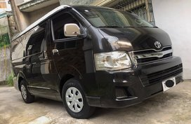 2012 Toyota Hiace Manual Diesel for sale in Quezon City