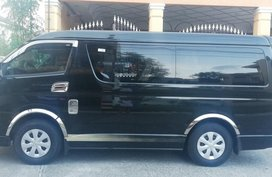 Selling Black Toyota Hiace 2017 Automatic in Las Pinas