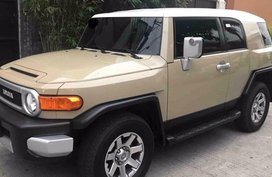 Toyota FJ Cruiser 2016 for sale in Quezon City