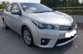 Sell Silver 2014 Toyota Altis at 71000 km in Quezon City