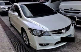 White 2010 Honda Civic for sale in Quezon City