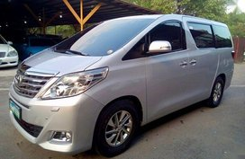 2012 Toyota Alphard for sale in Manila