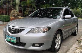 Silver 2005 Mazda 3 Automatic Gasoline for sale in Cavite