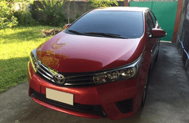 Sell Red 2014 Toyota Corolla Altis Manual Gasoline