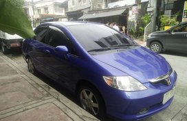 Selling Blue Honda City 2005 Automatic in Quezon City