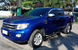 Sell Blue 2014 Ford Ranger Automatic Diesel in Bulacan
