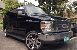 Black 2012 Ford E-150 at 27000 km for sale