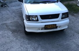 White Mitsubishi Adventure 2006 for sale in Quezon City