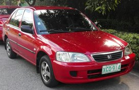 Red Honda City 2002 for sale in Quezon City