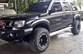 Black Nissan Frontier 2000 for sale in Manila