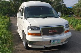 White 2011 Gmc Savana Automatic Gasoline for sale