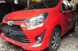 Selling Red Toyota Wigo 2018 at 2000 km in Quezon City