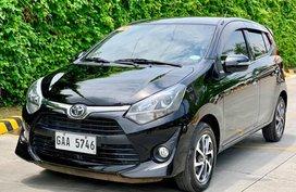 Sell Black 2017 Toyota Wigo at 7000 km