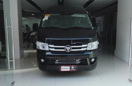 Black Foton View Transvan 2019 for sale in Pasig