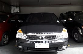 Black 2014 Kia Carnival Automatic Diesel for sale