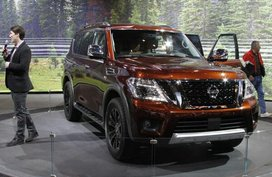 [Philkotse spy] Let's take a first glimpse of the Nissan Patrol 2020