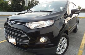 Selling Black 2016 Ford Ecosport at 18000 km
