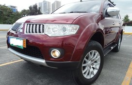 Red 2010 Mitsubishi Montero Sport for sale in Quezon City