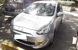 Selling Silver 2015 Mitsubishi Mirage Hatchback in Antipolo