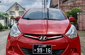 Sell Red 2016 Hyundai Eon at 30000 km in Quezon City