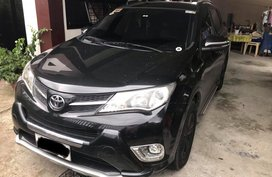 Black Toyota Rav4 2014 at 57000 km for sale