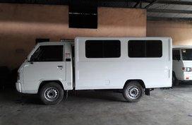 White 2015 Mitsubishi L300 Manual Diesel for sale in Makati